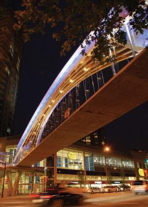 The Kingsway Pedestrian Bridge