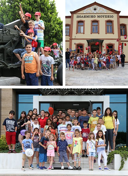 ISOMAT once again welcomed the children of its employees in Thessaloniki, on Friday 16 June 2017, a special day dedicated to them!
