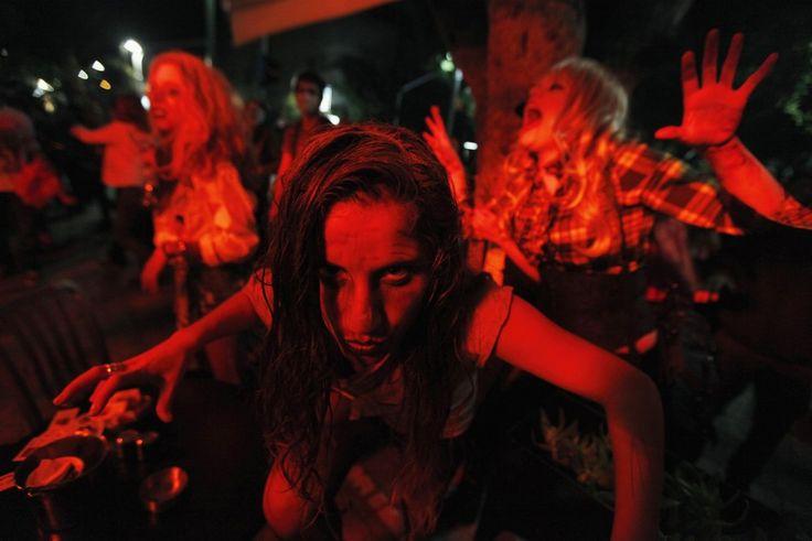 Zombie Walk Takes Over Tel Aviv: An Interesting Way To Celebrate Purim