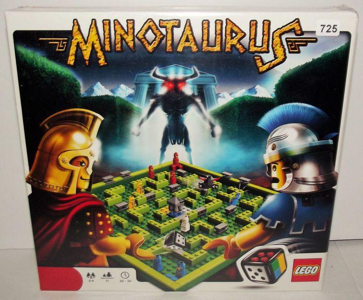 NEW - LEGO Minotaurus Game Set 3841 - Sealed #LEGO