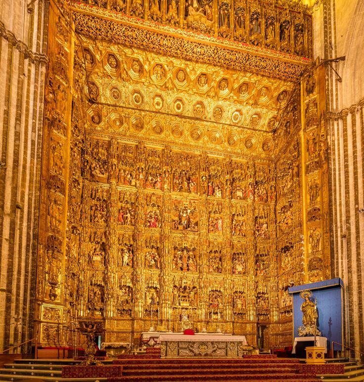 Catapeteasma Catedralei Sfânta Maria din Sevilla.  Foto:  Diego Delso