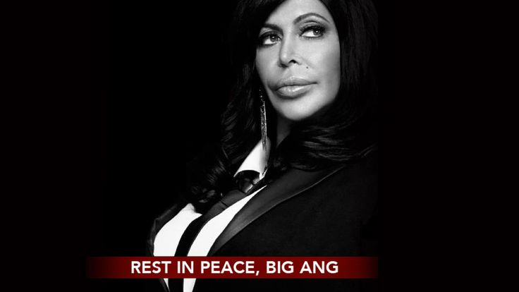 "Beloved Mob Wives Star Angela ""Big Ang"" Raiola Has Passed Away #RIP #DavidTutera #LGBTQ"