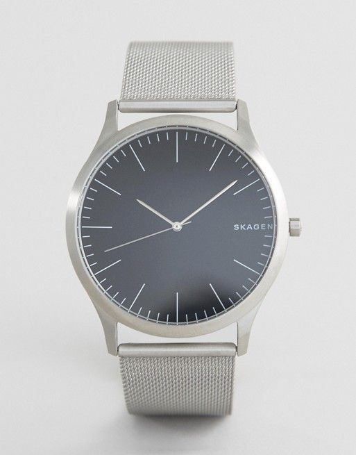 Skagen SKW6334 Jorn Mesh Watch In Silver
