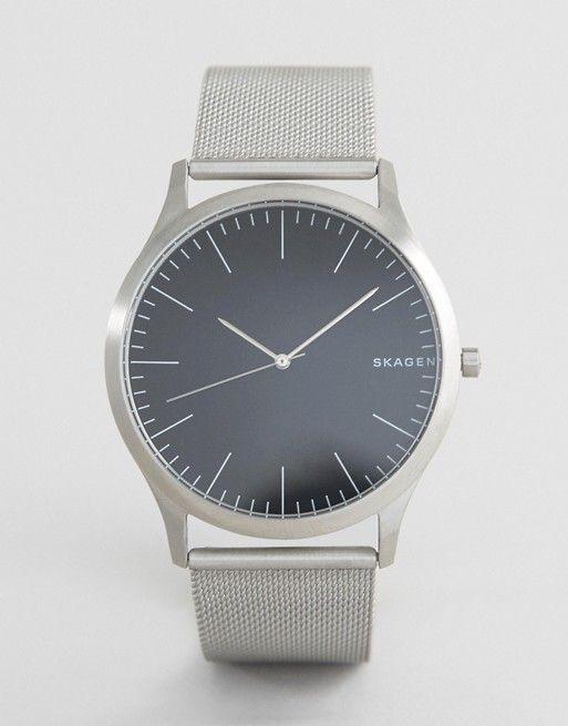 Skagen SKW6334 Jorn Mesh Watch In Silver