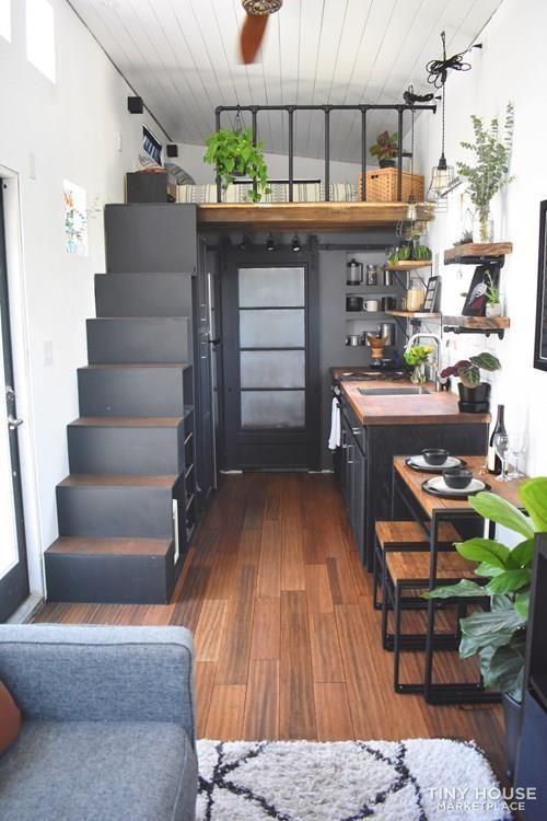 Dual Loft 26FT Tiny House in Orlando FL 3 #tinylivingideas Dual Loft 26FT Tiny H…  – Haha