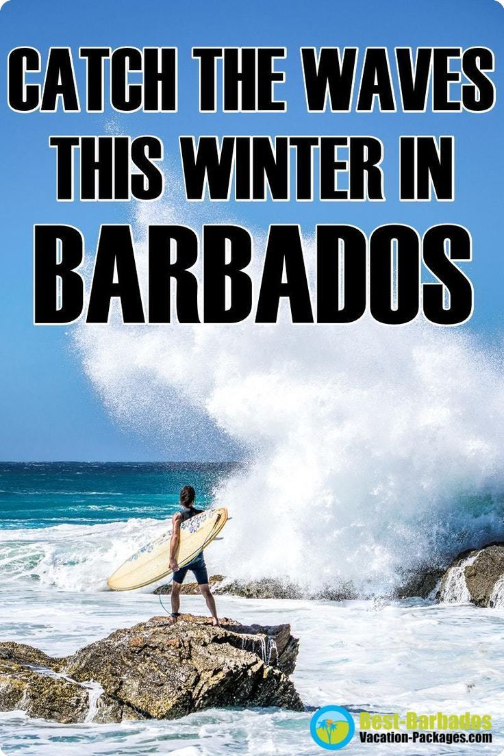 Catch The Waves This Winter And Experience A Barbados Surfing Vacation Barbadossurfing Soupbowlbarba Barbados Vacation Barbados Resorts Punta Cana Vacations