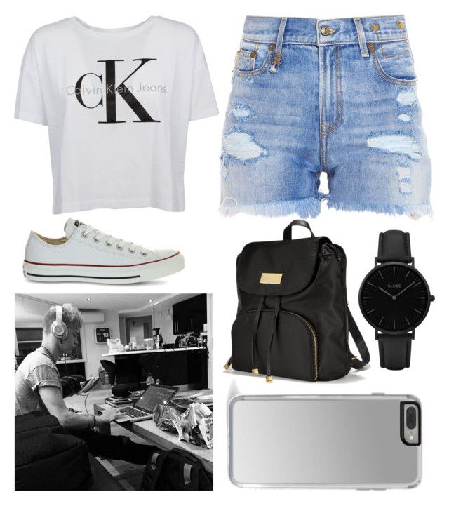 """Acompanying Nate Parker while producing"" by beatrigitaa on Polyvore featuring Calvin Klein, Converse, R13, Victoria's Secret and CLUSE"