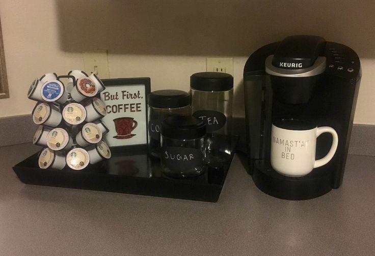 Keurig Coffee Station in Kitchen