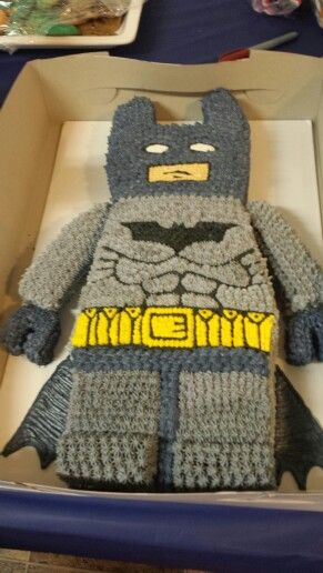 Lego batman cake by America Thomas♡♡