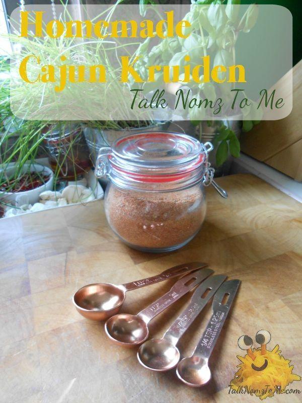 Homemade Cajun Kruiden - Talk Nomz To Me