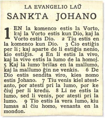 esperanto   The Bible in Esperanto
