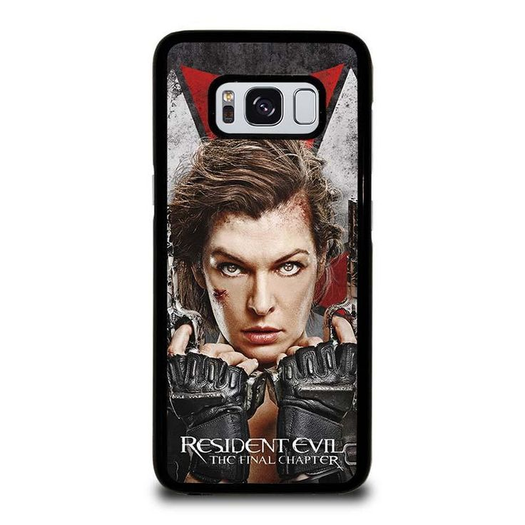 RESIDENT EVIL FINAL CHAPTER Samsung Galaxy S3 S4 S5 S6 S6 Egde S6 Edge Plus S7 S7 Edge S8 S8 Plus Note 3 4 5 8