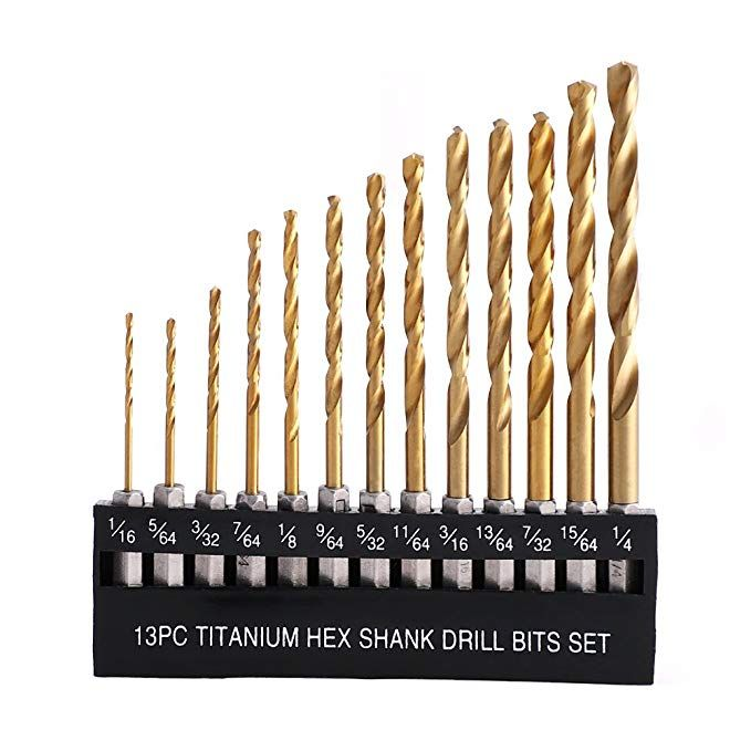 1//4 High Speed Drill Bits