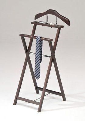 Kings-Brand-Kings-Brand-Walnut-Finish-Solid-Wood-Suit-Valet-Rack-Stand