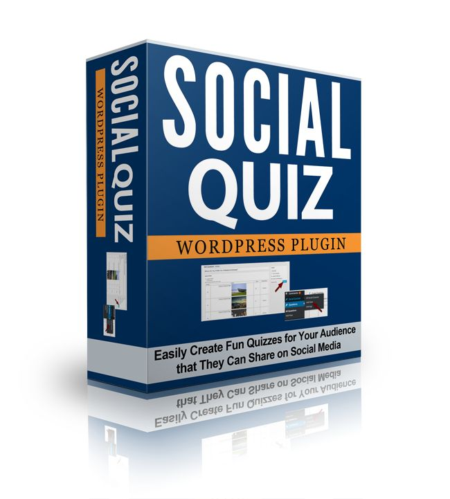 Social Quiz Plugin for WordPress Quickly and Easily Create Your Own   Viral Social Quizzes!