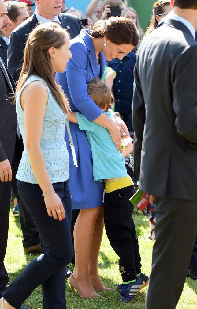 Katalin hercegné megint egy szigorú protokollt szegett meg