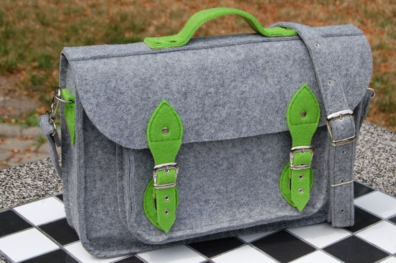 NEW lower price - 30%!!! MacBook Pro 13 inch bag, vegan bag, satchel, Laptop bag, case, felt messenger bag