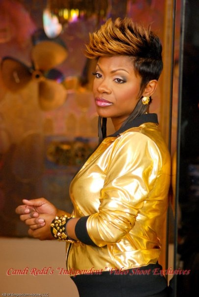 Kandi Burruss Love Her Spiked Hair Keeping Up With