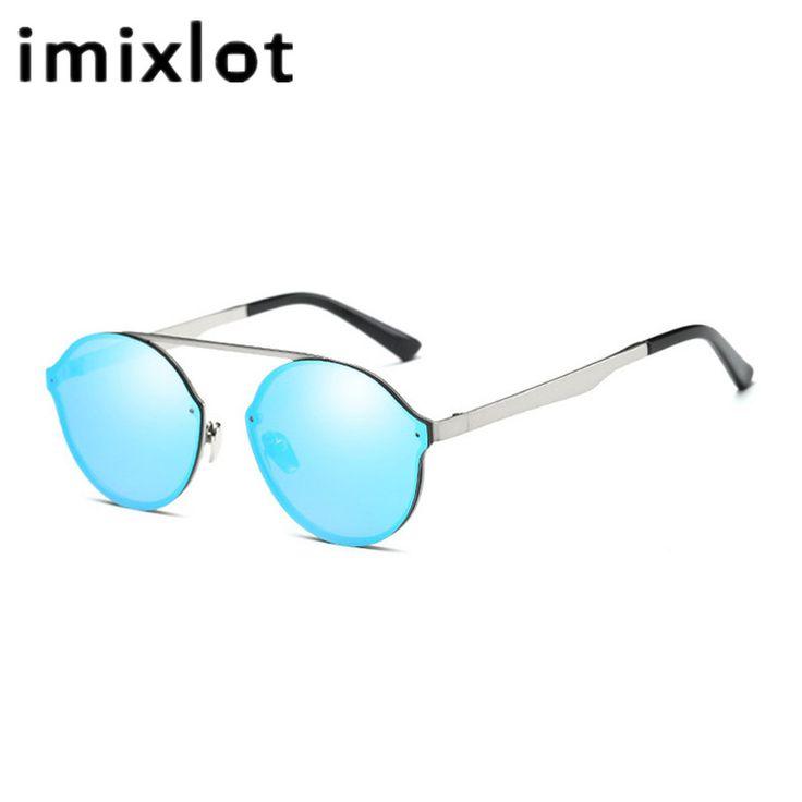 Vintage Retro Round Sunglasses Tinted Lens Men Women Super Light Sun Glasses 6 Colors UV400 lentes de sol #Affiliate