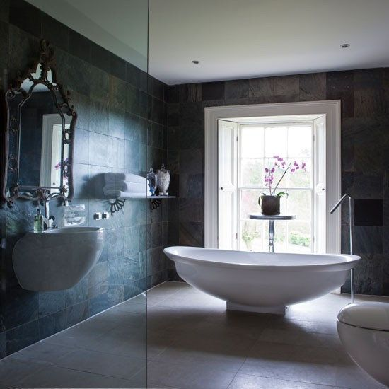 Luxury Hotel Interior Design Inspiration.....use very plush towels and select matching fixtures for the tub and sink...