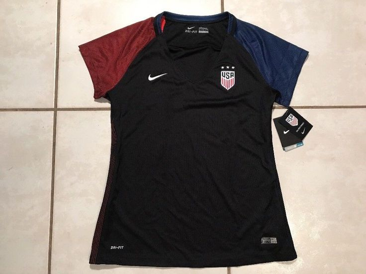 NWT NIKE USA National Team 2016 Soccer Jersey Women's Large  | eBay