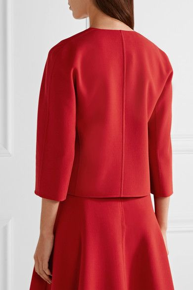 Michael Kors Collection - Stretch-wool Crepe Jacket - Red