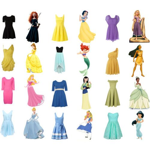cue the onslaught of modernized Disney dress posts