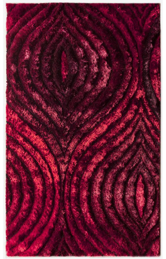 Rugs USA Moderna Dunes Red Rug