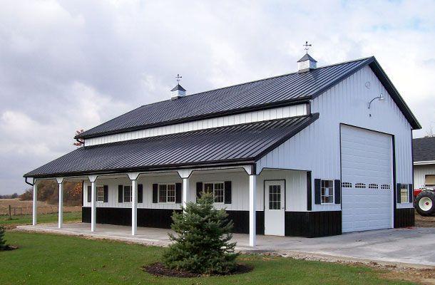 Louisville, OH - Ag Storage/Shop Building - Lester Buildings Project: 312314