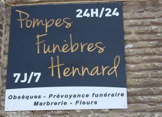 Pompes funèbres Hennard : bon anniversaire !