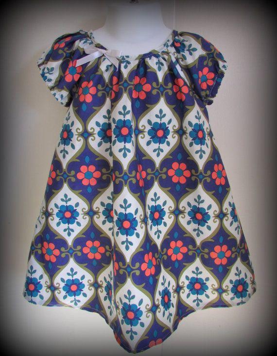 Petite petals toddler dress