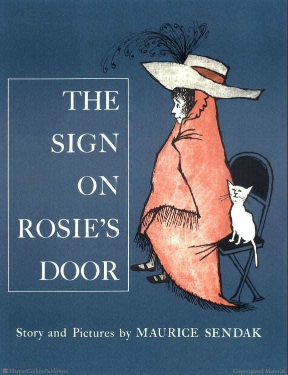 "There was a sign on Rosie's door that said, ""If you want to know a secret, knock three times."""