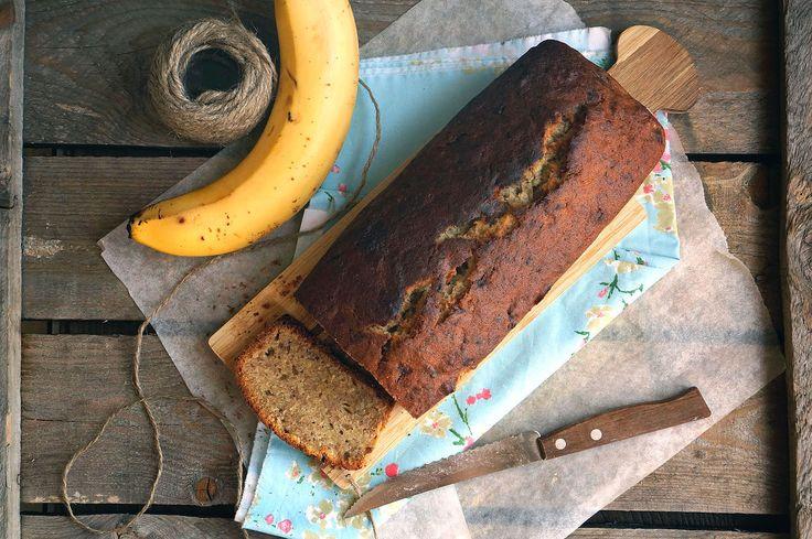 Банановый хлеб, пошаговый фото рецепт, кулинарный блог andychef.ru
