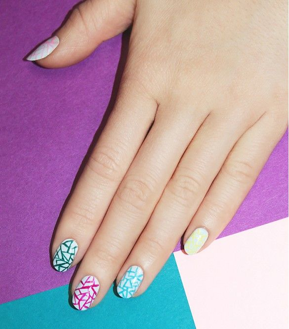 Straight Line Nail Art : Best images about well manicured on pinterest nail