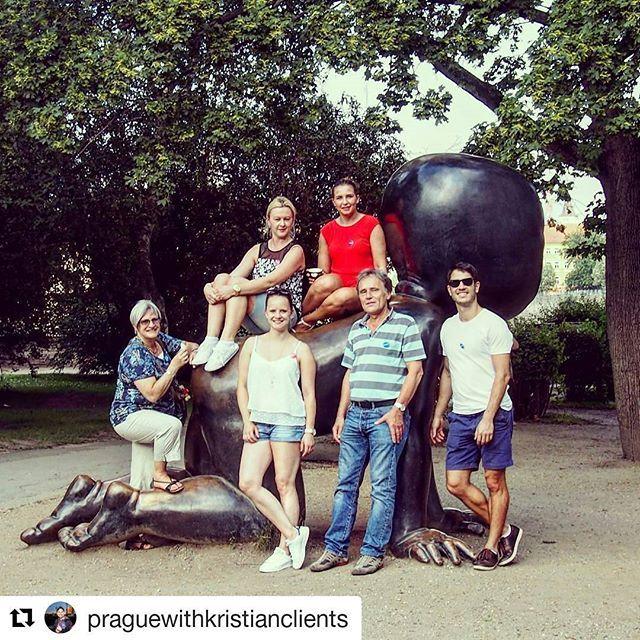 Enjoy #prague with  @praguewithkristianclients #blackbabies #blackbabiesPrague #praha #czechrepublic #czech #praga #прага #love #architecture #charlesbridge #beautiful #vltava #holiday #bridge #view #oldtown #프라하 #beer #sunnyday #photooftheday