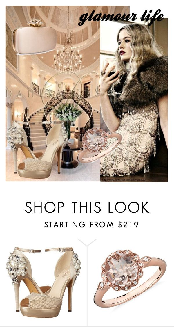"""GLAMOUR LIFE"" by kidsfashion001 on Polyvore featuring Menbur, Blue Nile and Oscar de la Renta"