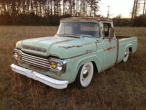 Buy new 1959 FORD F100 RAT ROD F-100 PICK UP TRUCK in Amite, Louisiana,  United States, for US $9,999.00