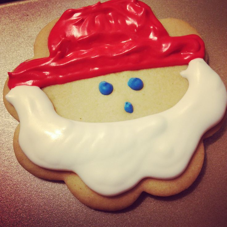 santa cookie  #SweetSweetJules