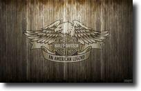 Fond d'écran Harley-Davidson aigle