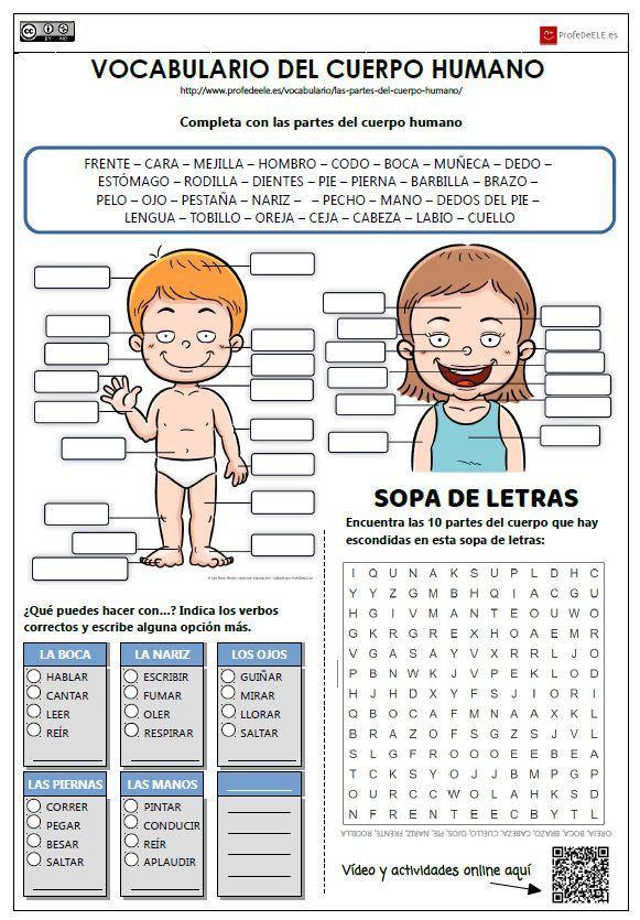 ejercicios de español para extranjeros a1 pdf