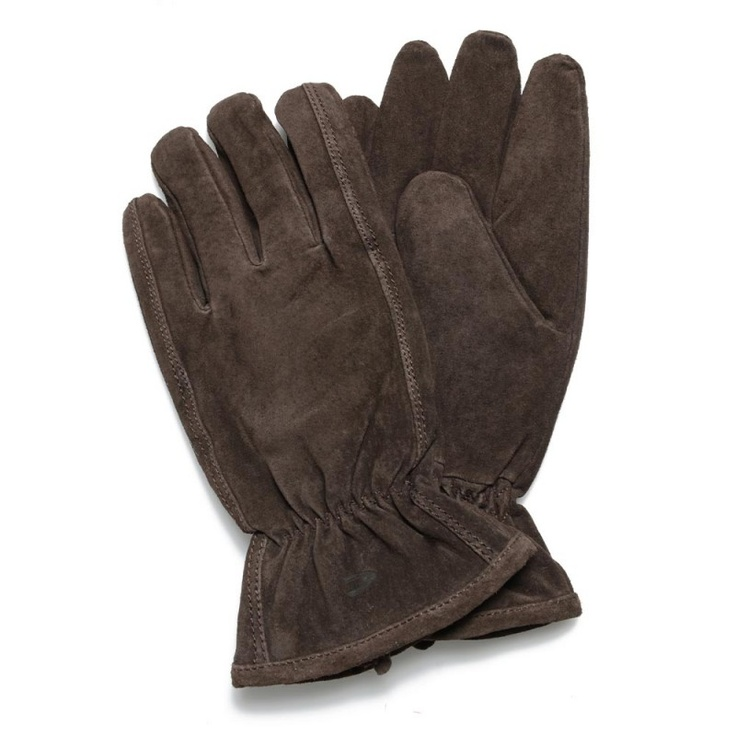 Camel Active Brown Basic Leather Glove