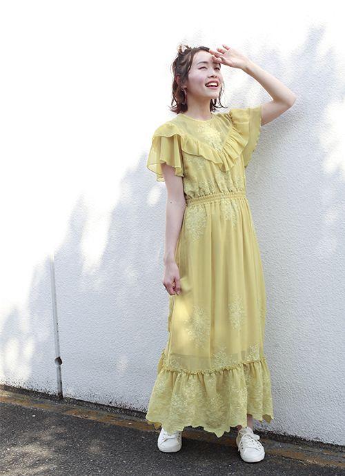 net限定アイテム vintage風ワンピース ワンピース 公式通販 nice claup ナイスクラップ ワンピース ドレス ファッションアイデア
