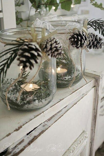 Décoration des bougies http://thefairydreams-lafieradeisogni.blogspot.com/2013_12_01_archive.html