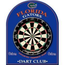 University of Florida Gators Dart Board Back, Game Room Equipment