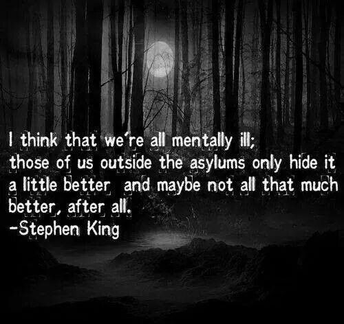 On Stephen King Horror Quotes. QuotesGram