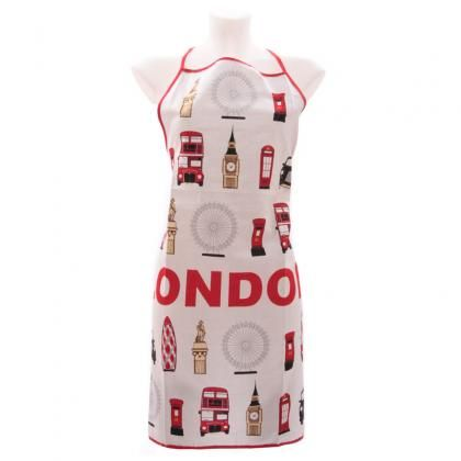 Bavlněná zástěra London #Landmarks, design Ted Smith #apron #accessories #giftware