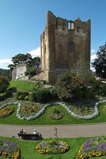 Guildford Castle. Surrey, UK Image: Richard Purkiss, built in the 11th century