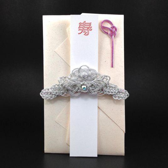 ハンドメイドマーケット minne(ミンネ)| 麗しのシルバーティアラのご祝儀袋
