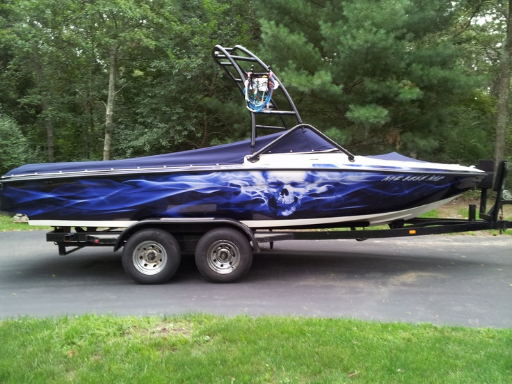 wakeboard boat wrap in florida - Boat Graphics Designs Ideas