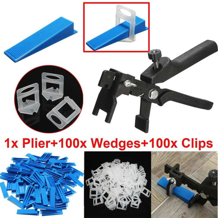 compare prices 201 tile leveling system 100 wedges 100 clips plier floor wall spacer kit #floor #leveling